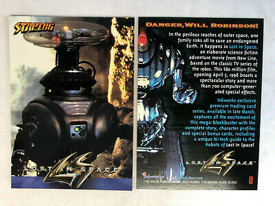 LOST IN SPACE CLASSIC /'98 Inkworks #SP1 ONE SHIP FEE PER ORDER CHEAP PROMO CARD