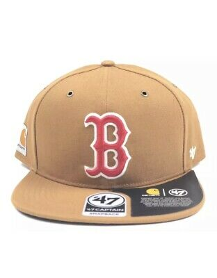 d0a1f2290a121 Boston Red Sox Carhartt 47 Brand Adjustable Captain Clean Up Hat New