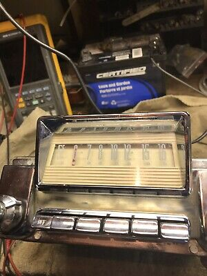 1956 Mercury Radio