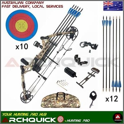 Compound Bow 20-60lbs Archery Bow Hunting Target Shooting Right Handed 4 colors