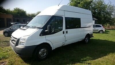 ford transit welfare van 2011 61 reg t350 lwb rwd one owner from new servicehist