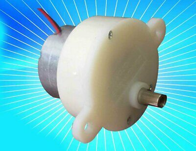 DC3V-12V 3rpm-118rpm Output Rotary Speed Plastic Gear Speed Reduction Gear Motor