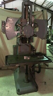 Burgmaster Six Spindle Turret Drill Model Number 2B
