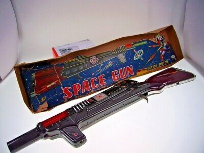 "GSR ROBOT GSGUN ""SPACE GUN"", MT JAPAN, 49cm, LIKE NEW IN VERY BAD BOX !"
