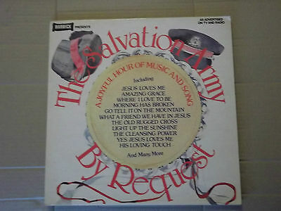 The Salvation Army - By Request Lp