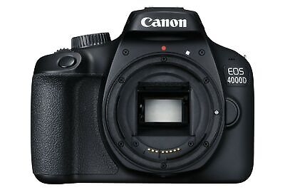 Canon EOS 4000D SLR Black Camera Body Only - 3011C007AA