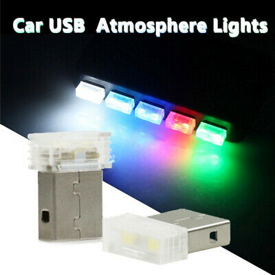 Colorful Ambient Lamp Car Interior Lighting LED Light Usb Atmosphere Foot Lamp