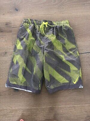 "1831e90353 $58 Nike Horizon 11"" Volley Men's Medium Swim Trunks Board Shorts  NESS8448-737 M"