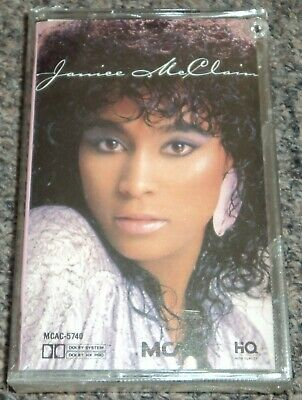 Janice McClain Self-Titled Cassette Tape New Sealed 1986 Funk Soul