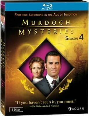 MURDOCH MYSTERIES SEASON 4 (Region A BluRay,US Import,sealed.)