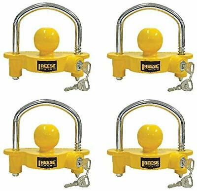 Reese Towpower 72783 Universal Coupler Lock, Adjustable Storage Security, Heavy-
