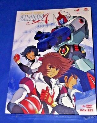 Planet Robot DANGUARD ACE cofanetto 10 DVD box set serie completa