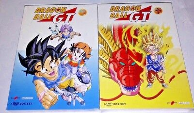 Dragon Ball GT serie tv completa new edition 13 DVD  2 box set cofanetti