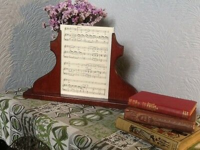 Lovely Large Art Deco Mahogany Picture Frame #3759