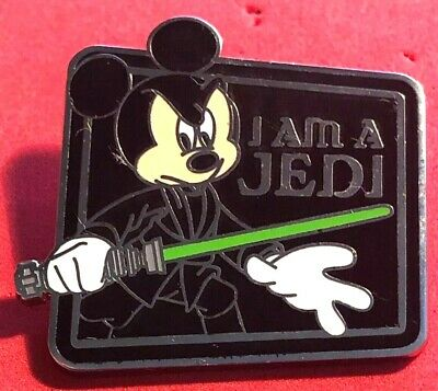 Disney Wdw 2011 Star Wars Mystery Character Quotes Mickey As Luke Skywalker Pin