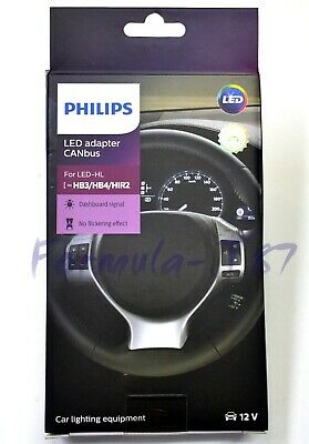 Philips LED Canbus Canceler 9005XS HB3A Head Light Bulb DRL Stop Flicker Error