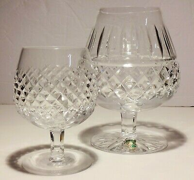 """RARE VINTAGE WATERFORD CRYSTAL MAEVE OVERSIZED BRANDY SNIFTER GLASS 32oz 7"""" TALL"""