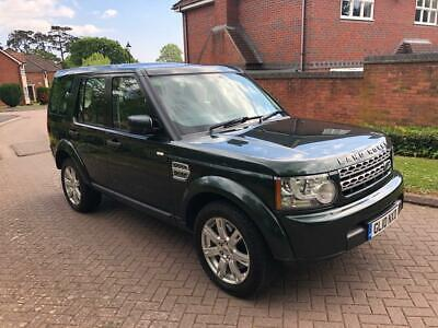 2010 Land Rover Discovery 4 GS 3.0TDV6  Automatic Green Black Leather