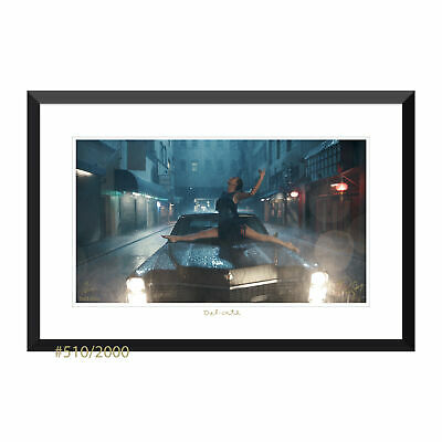"""Taylor Swift Collectible: """"Delicate"""" Music Video Lithograph 2nd Edition #510"""