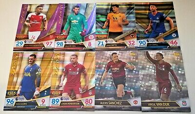 Match Attax Ultimate 2018/19 Pick Your Captains/One-Club/Sketch/Legends/Pl Elite