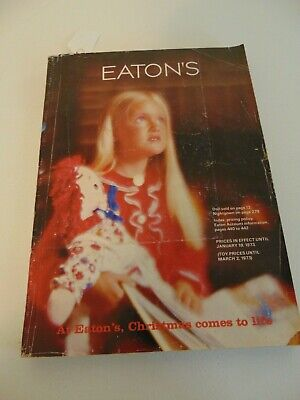 1972 Eaton's Canada Christmas  Catalogue   446 Pages