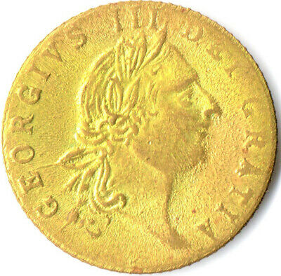 1788 Gaming Token Of King George Iii. In Memory Of The Good Old Days  #Wt2017