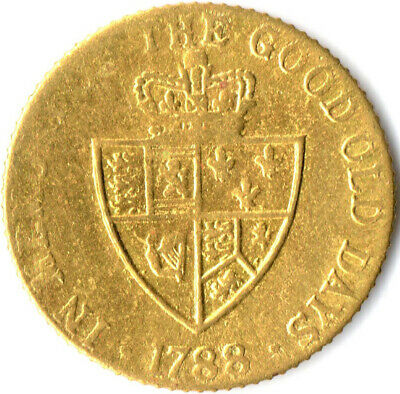 1788 Gaming Token Of King George Iii. In Memory Of The Good Old Days  #Wt2019