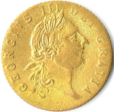 1788 Gaming Token Of King George Iii. In Memory Of The Good Old Days  #Wt2041