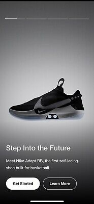 best service 37988 43430 Nike Adapt Bb Basketball Shoes-Men Size 11- Self Lacing Shoes-Deadstock-