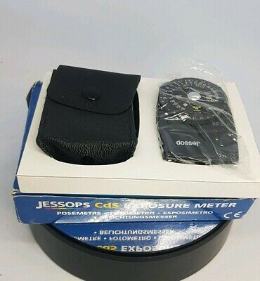 Jessop CdS Exposure Meter - Model D3B - BOXED CASED - Working Perfectly #659