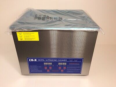 Commercial Ultrasonic Cleaner 15L with Heater and Timer Great for GunBikeMoto...