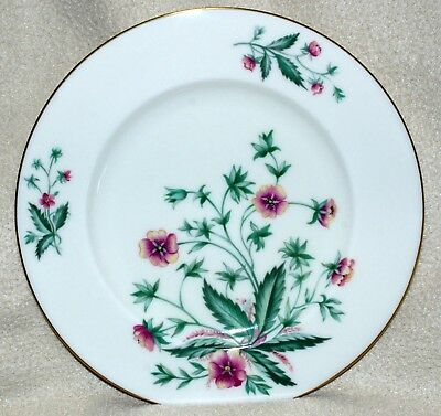 Set of 6 Lenox COUNTRY GARDEN Salad Plates, W-302, Excellent