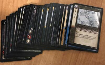 LOTR TCG Lord of the Rings TREACHERY/DECEIT Common Set COMPLETE 35/40 Cards