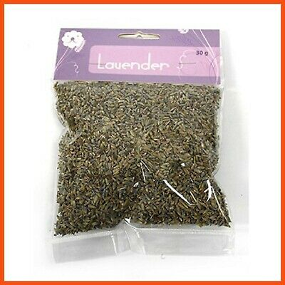 25 x DRIED LAVENDER BUDS LOOSE 30 gm | Lavender Flowers Dried Herbs Home Decor
