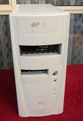 Tower ATX computer case from Pentium II III 4 era