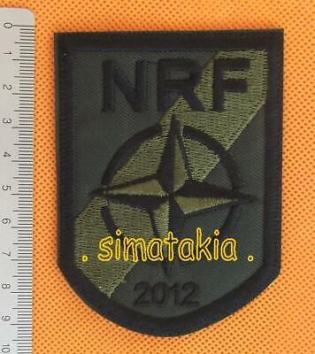 NRF NATO FREE SHIPPING NATO RESPONSE FORCES patch