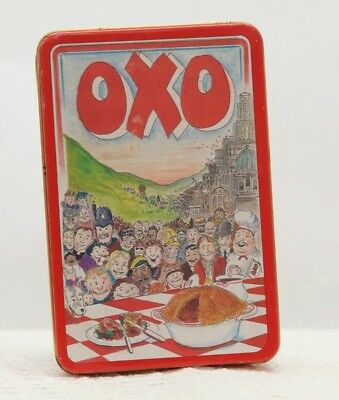 OXO TIN Vintage 1992 Designed By Martin Sanders Retro Kitchen Collectable Prop