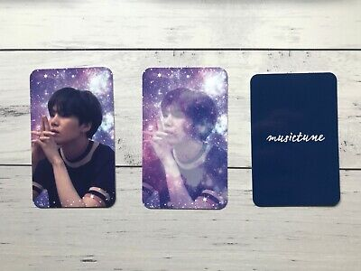 BTS Suga Fanmade Unofficial Photocard x5