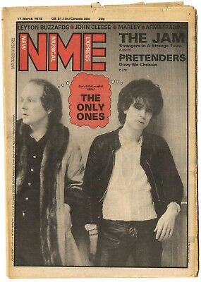 NME Magazine 17 March 1979 The Jam Only Ones Pretenders Bob Marley John Cleese