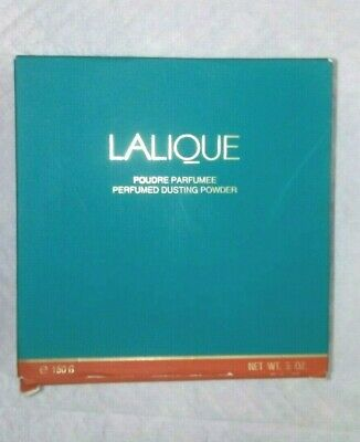 LALIQUE  New RARE Sealed  Dusting Powder 5 oz for Women