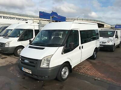 Ford TRANSIT 110 12-SEAT FWD MINIBUS DIRECT  LOCAL COUNCIL SUPERB DRIVE NO VAT !