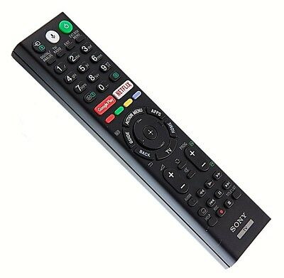 "Original SONY TV Remote Control For KD65XF7596BU 65"" Smart 4K Ultra HD HDR LED"