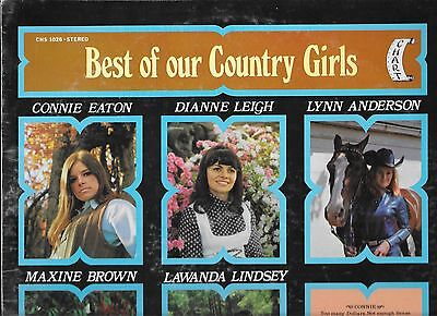 LP Compilation BEST OF OUR COUNTRY GIRLS Chart 1026 Stereo Still Sealed NearMint