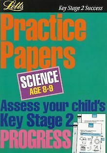 **OP**KS2 Practice Papers: Science 8-9: Age 8-9 (Key ...   Book   condition good