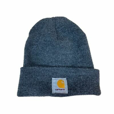 7bc75dfd2ef232 Carhartt Acrylic Winter Hat Men's OFA Coal Heather Headwear A18-CLH