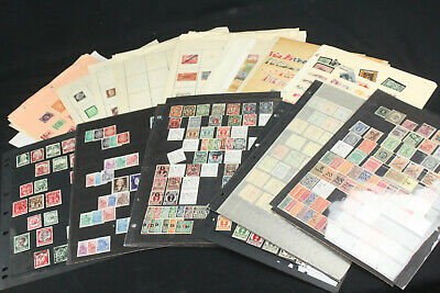 Germany States & Locals Stamp Collection Lot Mint Sets, Pages Bayern, Danzig++