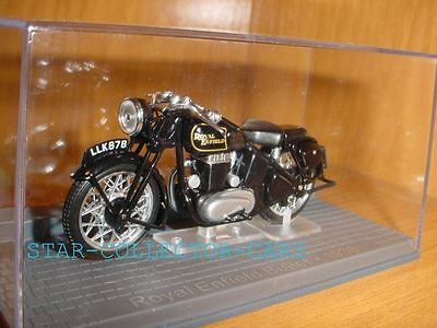 Royal Enfield Bullet Black 1938 1/24 Mint!! With Box