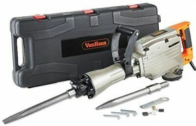 VonHaus 1500W Electric Breaker Demolition Hammer Drill for Concrete NEW