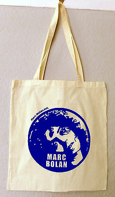 Marc Bolan 100% Cotton Shoulder/Tote Bag  - Marc Bolan's Rock Shrine Fundraiser