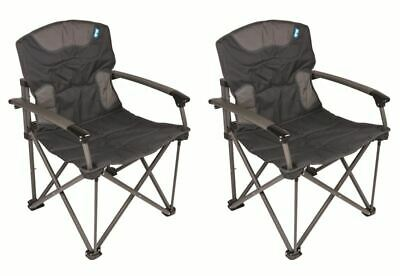 Kampa Forte 180 Extra Strong Folding Camping Chair Max Load 180kg FT0182